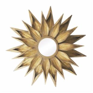 Brackenhead Sunburst Decorative Wall Mirror - 36 diam. in.