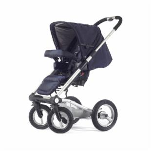 Mutsy 4 Rider Single Spoke Stroller - Team Navy