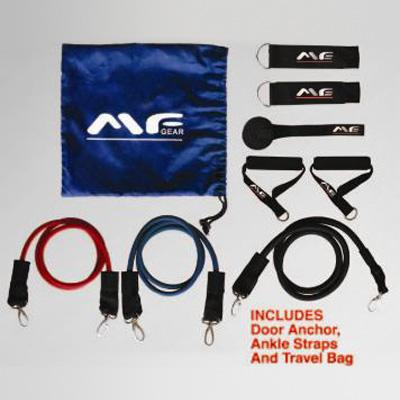 Maximum Fitness Gear Resistance Bands - 3 Piece