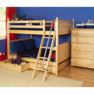 Fat Full over Full Bunk Bed