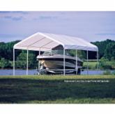  ShelterLogic 12 x 20 Canopy White Replacement Cover for 2&#34; Frame
