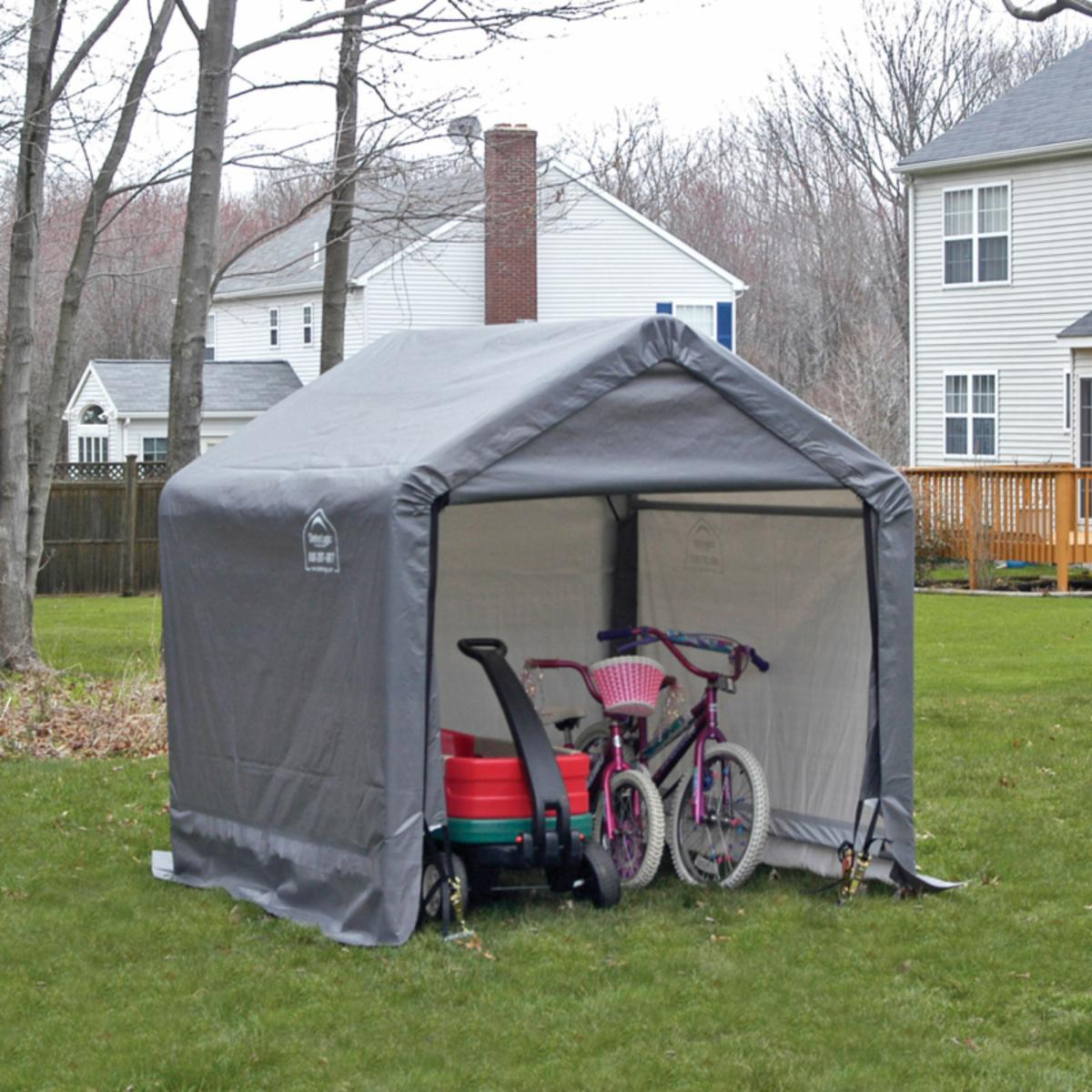 ShelterLogic 6 x 6 ft  Shed in a Box Canopy Storage Shed