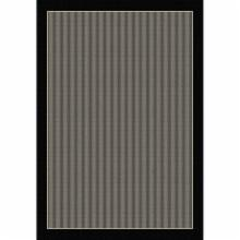  Dynamic Rugs Piazza Waffle Indoor/Outdoor Area Rug - Black