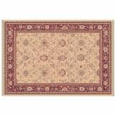 Dynamic Rugs Ancient Garden Collection Rectangle Hearth Rug-Ivory Bonsai