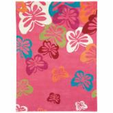  Dynamic Rugs Fantasia Butterfly Light Pink 1703 Area Rug