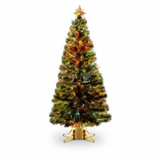 6 ft. Fiber Optic Radiance Fireworks Christmas Tree