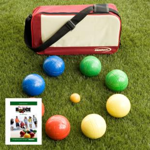 Joy of Bocce 90mm Personalized Bocce Ball Set