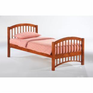 Night and Day Molasses Panel Bed