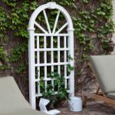  New England Arbors Hanover 6-ft. Vinyl Arch Trellis