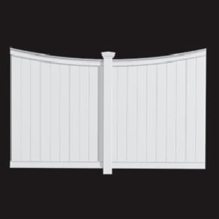 New England 5.5-ft. Vinyl Privacy Panel
