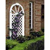 Nantucket 7-ft. Vinyl Arch Trellis