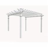  New England Regency Vinyl Pergola