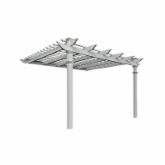  New England Freemont Vinyl Pergola