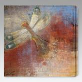  Dragonfly I Indoor/Outdoor Canvas Print by Maeve Harris