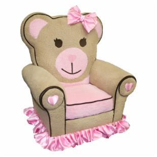 Harmony Kids Ballerina Bear Icon Chair