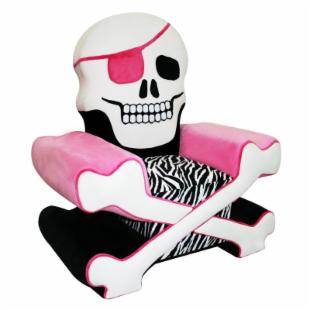 Harmony Kids Skull Chair Girl