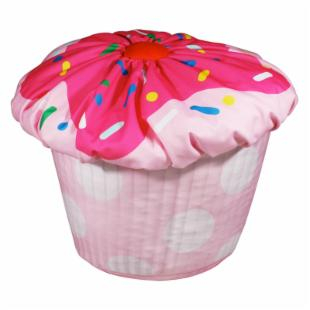 Newco Kids Cupcake Bean Bag Pink