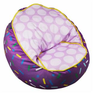 Newco Kids Sprinkles Bean Chair Lavender