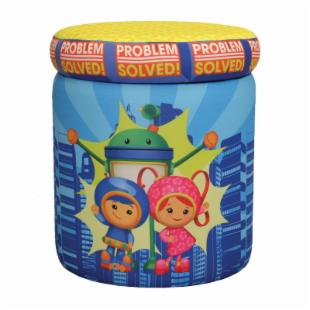 Nickelodeon Team Umizoomi Problem Solved Storage Ottoman