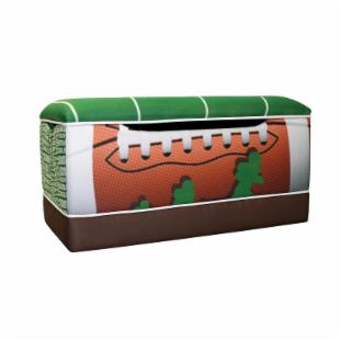 Newco Kids Football 50 Yard Line Toy Box