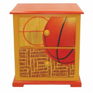 Newco Kids Basketball Slam Dunk Nightstand