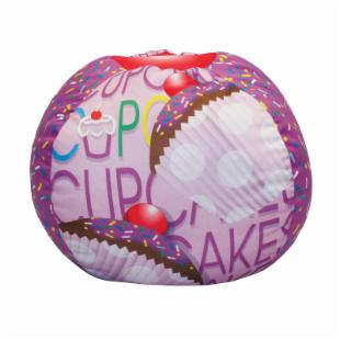 Newco Kids Cup Cake Collection Lavender Bean Bag