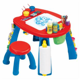 Grown Up Crayola Creativity Play Station Art Table