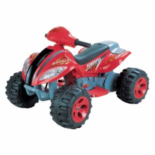 Happy Rider 6 Volt Battery Operated Max Quad Ride On - Red