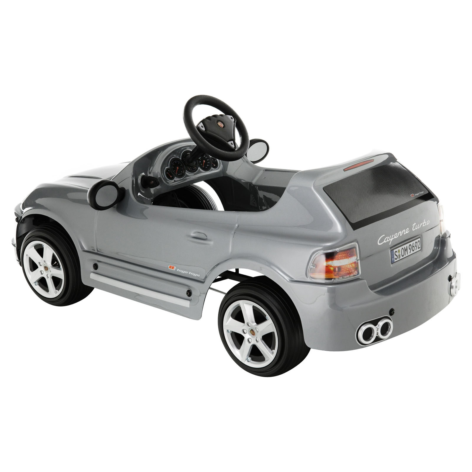 toys toys porsche cayenne battery powered riding toy. Black Bedroom Furniture Sets. Home Design Ideas