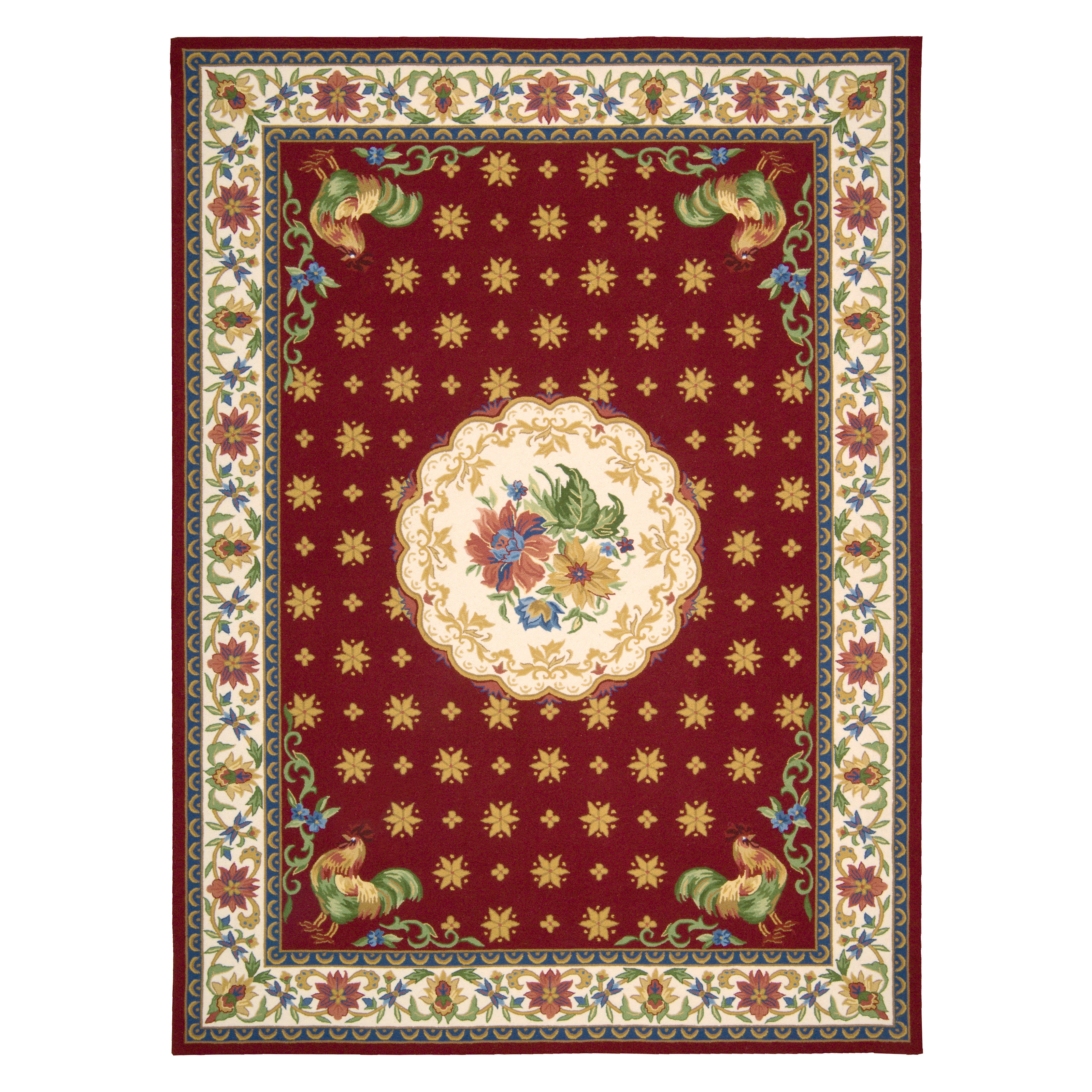 Country Kitchen Rugs: Nourison Country Heritage H301 Area Rug