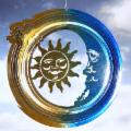  Celestial Sun and Moon Wind Spinner