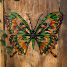  3D Butterfly Metal Outdoor Wall Art