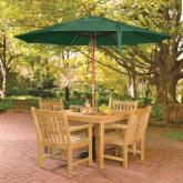  Oxford Garden Classic Patio Dining Set - Seats 4