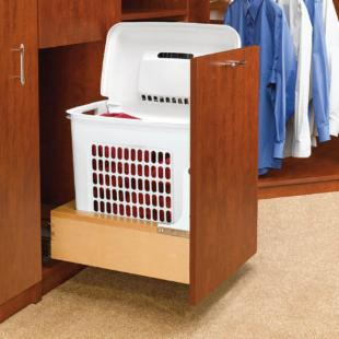Rev-A-Shelf R4WH-RM-15DM-1 Bottom Mount Pull-Out Hamper with Rev-A-Motion
