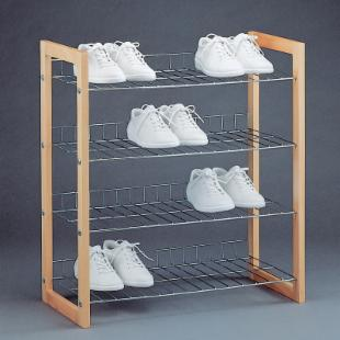 Neu Home 4-Tier Shoe Shelf
