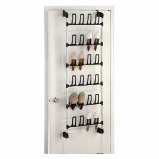 Neu Home Overdoor 12-Pair Shoe Rack