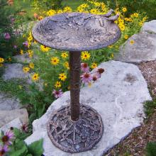  Oakland Living Hummingbird Bird Bath