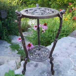 Oakland Living Frog Plant Stand - Antique Bronze