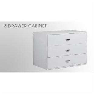 Arrange A Space 3 Drawer Cabinet Add-On Unit