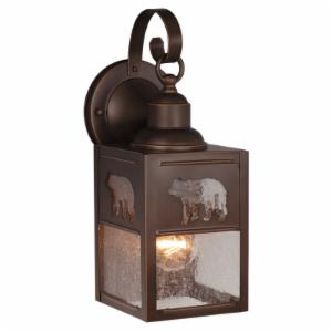 Vaxcel Bozeman OW35053BBZ Outdoor Wall Sconce