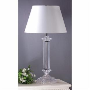 Laura Ashley TBTB2911 Battersby Table Lamp with White faux-silk shade