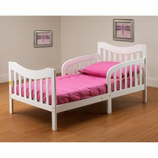 Orbelle Slumberland Convertible Toddler Bed - White
