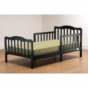 Orbelle Sleepy Time Toddler Bed - Black