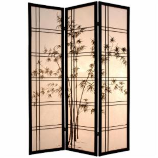 Bamboo Tree Room Divider