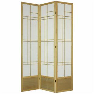 Oriental Furniture Eudes Shoji Screen Room Divider-84 Inch