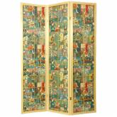 Oriental Furniture Kabuki Shoji Screen Room Divider - 72H in.
