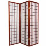  Window Pane 60 Inch Shoji Room Divider