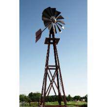  Decorative Bronze Powder Coated Metal Backyard Windmill