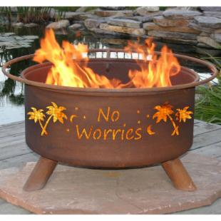 Patina No Worries 31 Inch Fire Pit