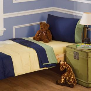 Pem America Jacob 4 Piece Toddler Bedding Set